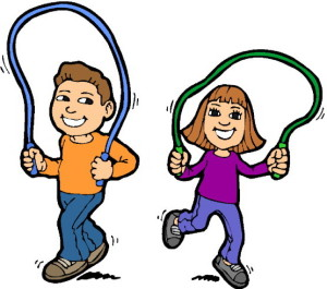 children skipping exercise - photo #31